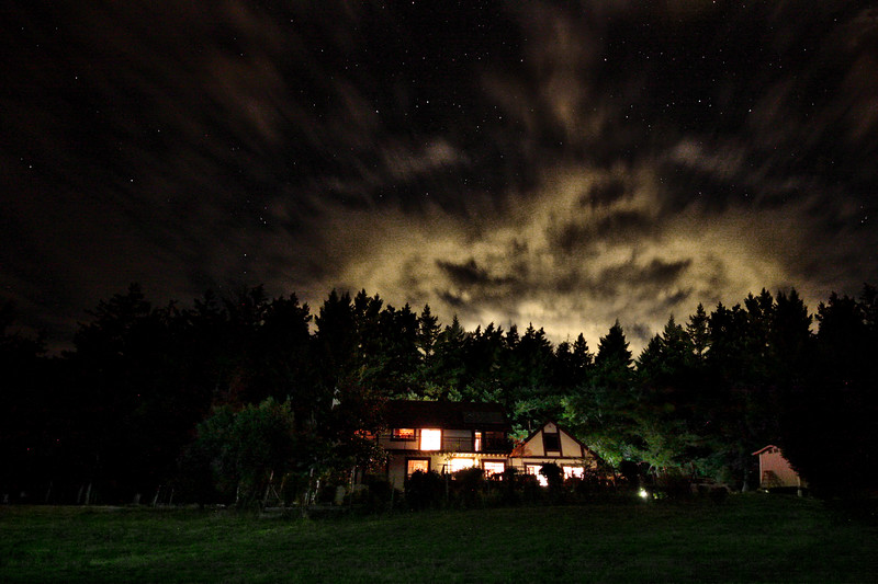 230/365 Mountain Home - © Simpson Brothers Photography<br /> <br /> This was shot with a Canon 40D, Sigma 10-20mm Lens and I used my iPhone flashlight to light the foreground.