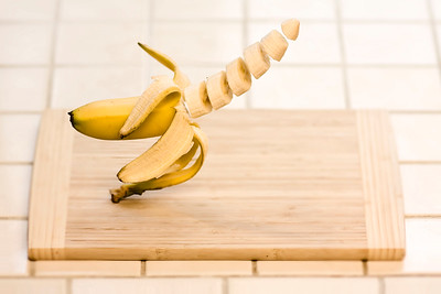 1/365 Nothing starts your day like a floating banana, very light - © Simpson Brothers Photography