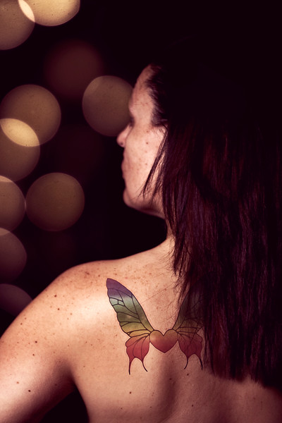 96/365 Butterfly Tattoo - © Simpson Brothers Photography