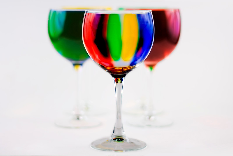 29/365 Glass of Color - © Simpson Brothers Photography