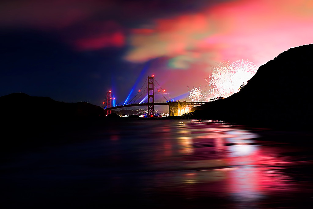 148/365 Golden Gate Bridge's 75th anniversary - © Simpson Brothers Photography