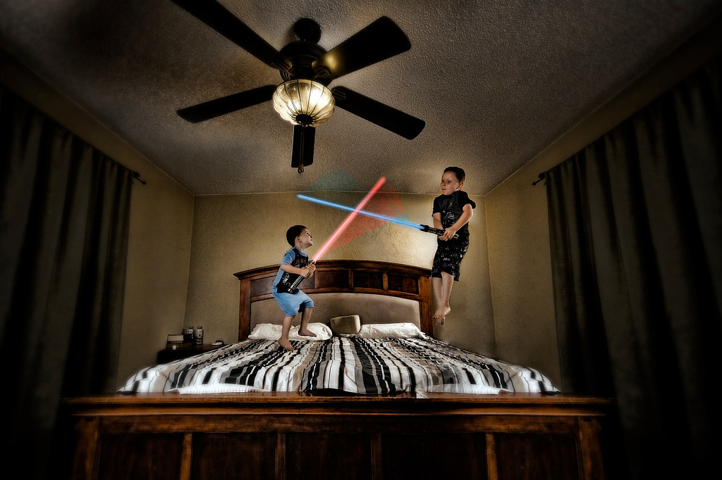 117/365 Bedtime Battle - © Simpson Brothers Photography