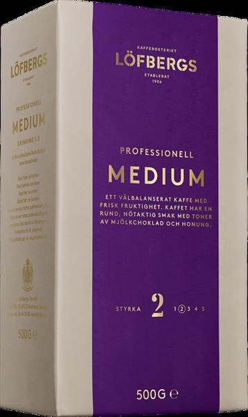 110399, LÖFBERGS Professionel jahvatatud kohv Medium 500g