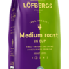 115199, Löfbergs Medium Roast In-Cup  250g
