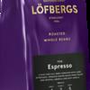 114799, Löfbergs Espresso kohvioad 1 kg, 7310050012346