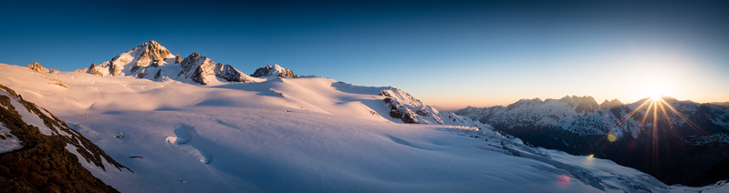 Refuge Albert 1er, Mont Blanc