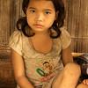KHAMU VILLAGE GIRL. LUANG PRABANG PROVINCE.