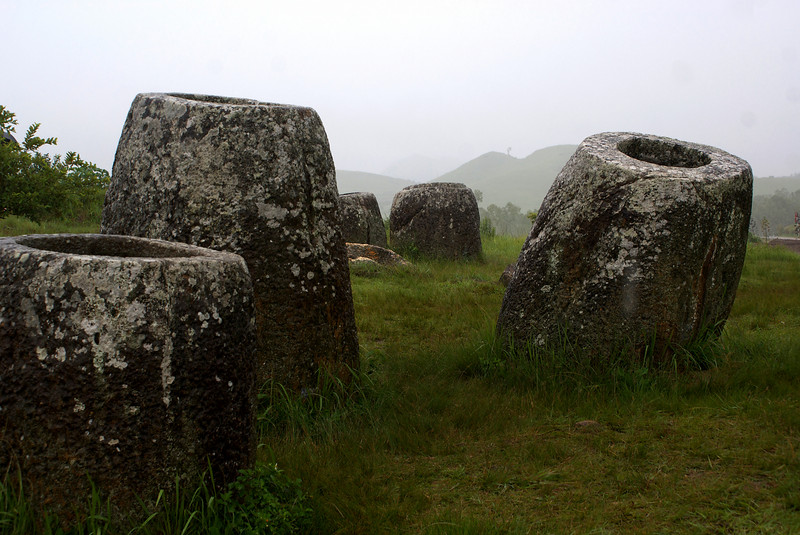 PLAIN OF JARS. SITE 1. PHONSAVAN. WORLD HERITAGE SITE. LAOS.