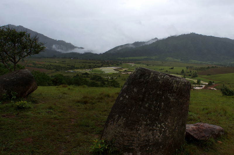 PLAIN OF JARS. SITE 2. PHONSAVAN. WORLD HERITAGE SITE. LAOS.