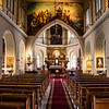 Interior or the Dievmates baznica church at Pils laukums square in the historic town centre, Vecriga, Riga, Latvia, Baltic states