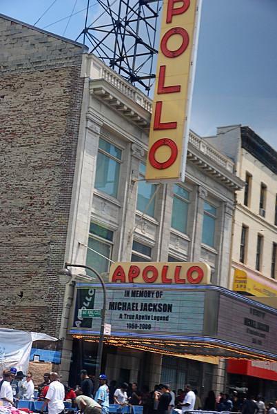 The Day Michael Died<br /> Apollo Theatre, New York City