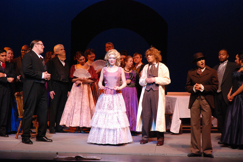 The Tales of Hoffman Opera Cast<br /> Horton Theatre Charlotte