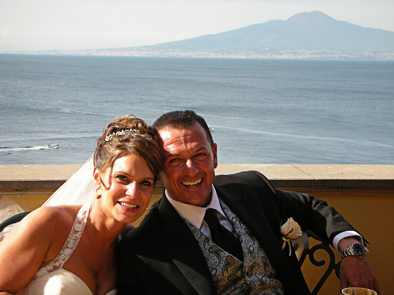 Renee and Mark<br /> Wedding in Sorrento