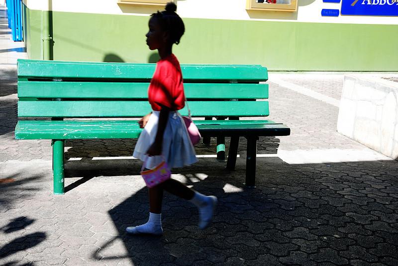 Antiqua Schoolgirl
