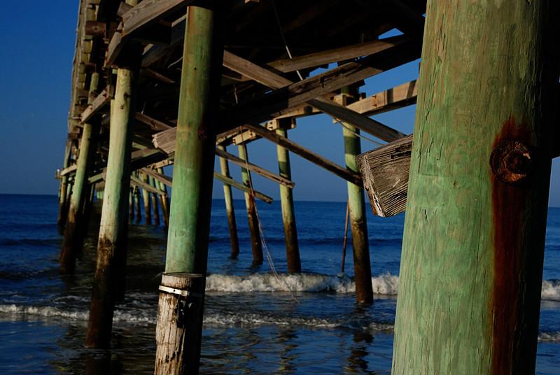 Ocean Crest Pier<br /> Oak Island, NC