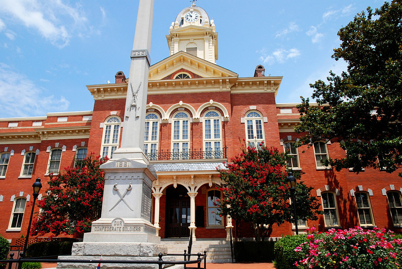 Historic Courthouse<br /> Downtown Monroe, NC