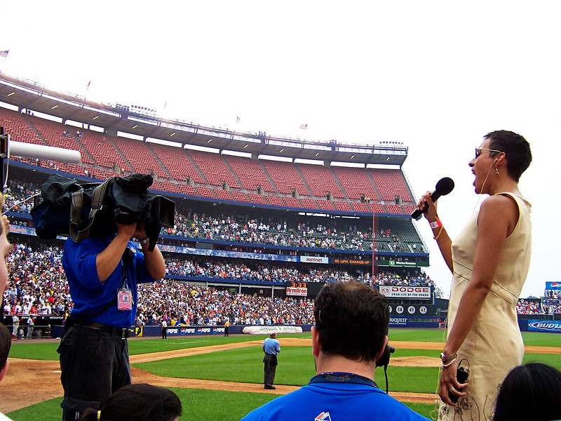 God Bless America by Gina<br /> Shea Stadium, New York City