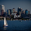 Sailing Lake Union, Seattle from Gasworks