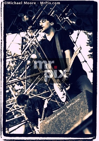 The Afghan Whigs on stage at EndFest. Shooting on assignment for Rolling Stone Magazine
