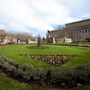 LIVERPOOL. ST GEORGE'S HALL. ST. JOHN'S GARDEN. THE UNITED KINGDOM OF GREAT BRITAIN AND NORTHERN IRELAND.