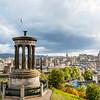 SCOTLAND. EDINBURGH. VEIW FROM CALTON HILL.