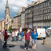 SCOTLAND. EDINBURGH. THE ROYAL MILE.
