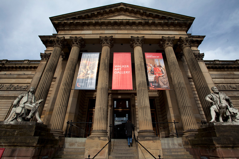 LIVERPOOL. WALKER ART GALLERY. THE UNITED KINGDOM OF GREAT BRITAIN AND NORTHERN IRELAND.