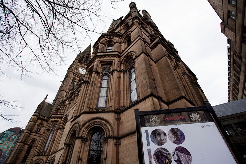TOWN HALL. MANCHESTER. UNITED KINGDOM.