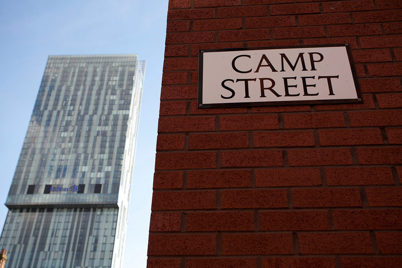 MANCHESTER. CAMP STREET. UNITED KINGDOM.