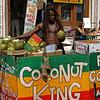 LONDON. PORTOBELLO ROAD. COCONUT KING.