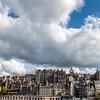 SCOTLAND. EDINBURGH. OLD TOWN SEEN FROM PRINCES STREET.
