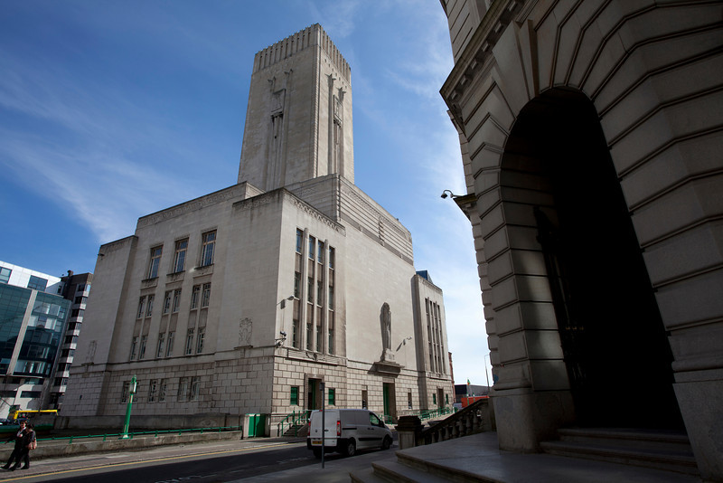 LIVERPOOL. MERSEY TUNNELS BUILDING. THE UNITED KINGDOM OF GREAT BRITAIN AND NORTHERN IRELAND.