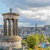 SCOTLAND. EDINBURGH. VIEW FROM CALTON HILL.
