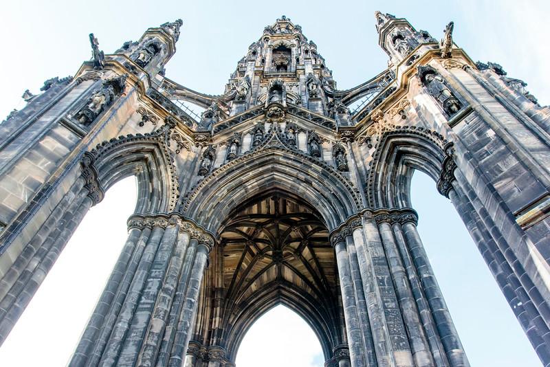 SCOTLAND. EDINBURGH. SIR WALTER SCOTT MONUMENT. [2]