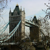 LONDON. TOWER BRIDGE IN SPRING. GREAT BRITAIN.