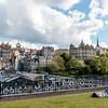 SCOTLAND. EDINBURGH. OLD TOWN SEEN FROM PRINCES STREET. [3]