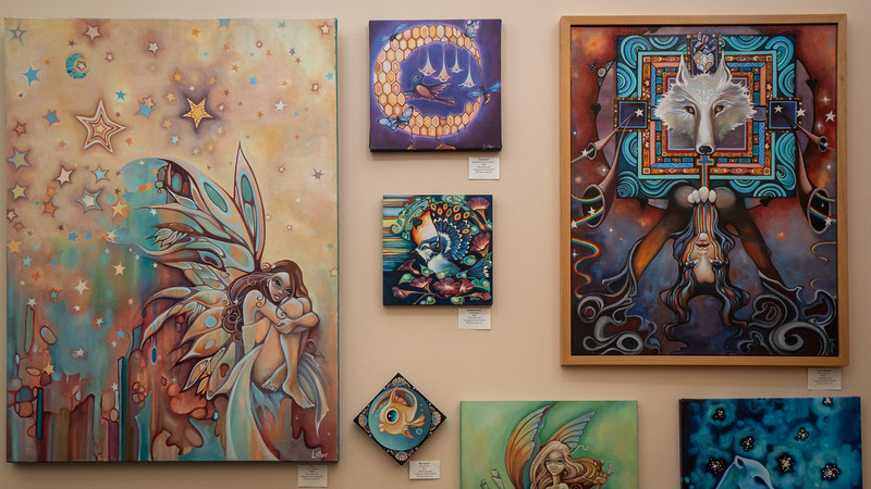 Tara Luther's Fantastical paintings