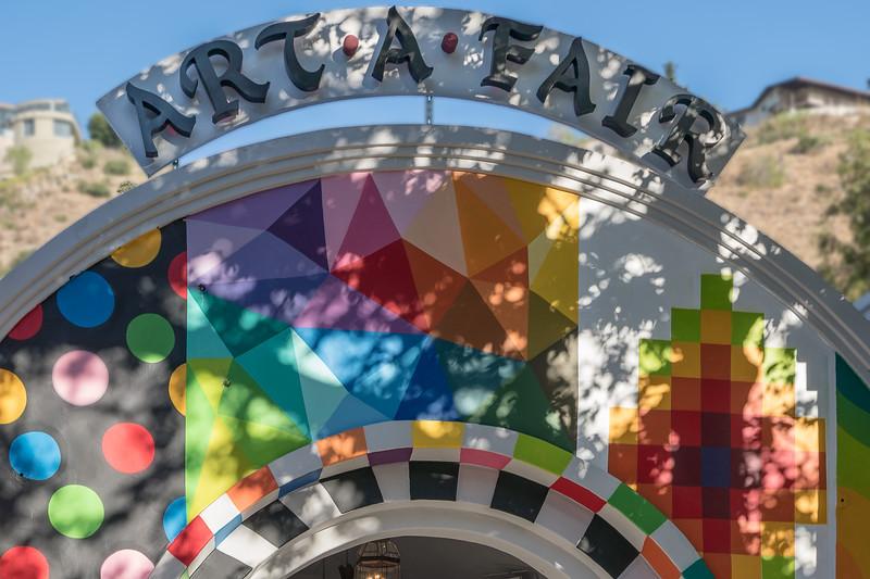 Entrance to Art-A-Fair