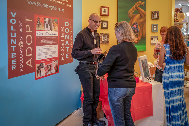 Animal rescue charity at Art-A-Fair