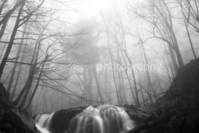 Rose River Falls in Shenandoah National Park.