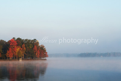 Autumn at Swift Creek Reservoir.