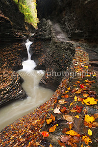 Watkins Glen in Autumn