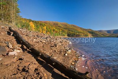 Fall foliage at Switzer Lake