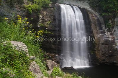 Looking Glass Falls, near Asheville, NC