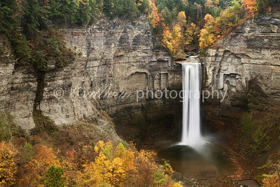 Taughannock Falls in Autumn