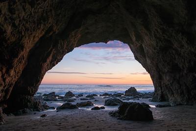 El Matador Sea Cave