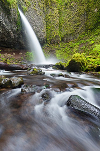 Ponytail Falls - Columbia River Gorge
