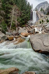Merced River & Vernal Fall - Yosemite National Park