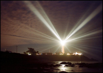 Pigeon Point - Annual Fresnel Lens Illumination.