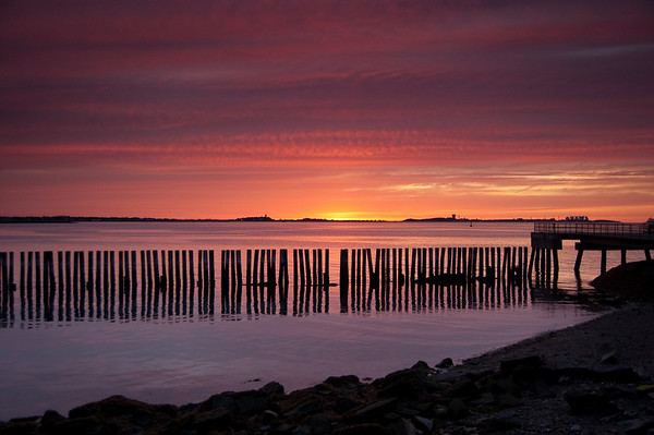 Castle Island Sunrise (2 of 2)